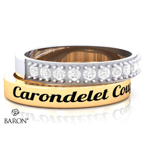 Carondelet Cougars Stackable Class Ring Set - 3152