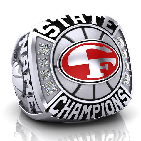 Cedar Falls Tigers Ring - Design 1