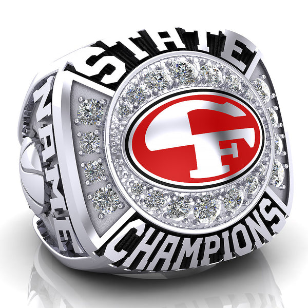 Cedar Falls Tigers Ring - Design 2
