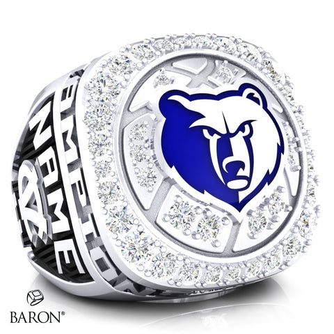 Central Valley Bears Championship Ring - Design 6.3