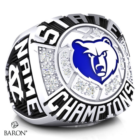 Central Valley Bears Championship Ring - Design 8.3