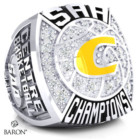 Centre College Championship Ring - Design 1.2