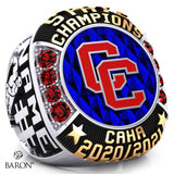 Cherry Creek Hockey Championship Ring - Design 1.2