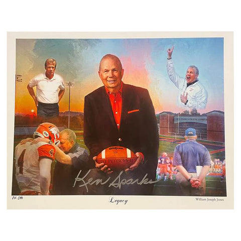 Coach Ken Sparks Commemorative  Poster