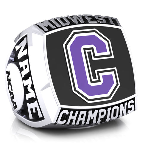Cornell College Baseball Ring - Design 1.1