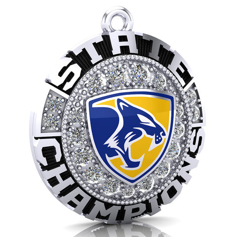 Downington East High School Cougars Pendant