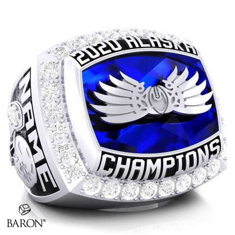 East Anchorage Championship Ring - Design 4.5 *DEPOSIT