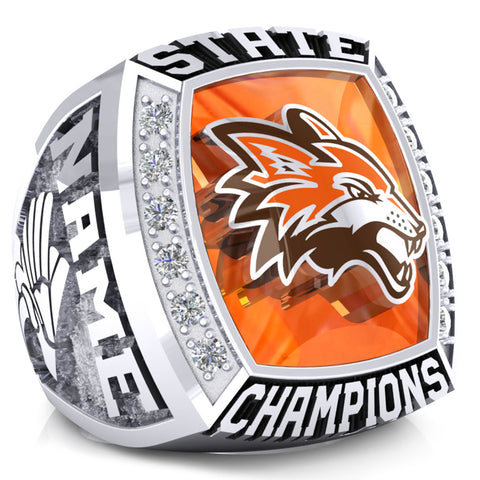 Fort Sumner High School Track and Field Ring - Design 2.5