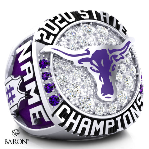 Forsyth Dogies Championship Ring - Design 1.3 (Men's)