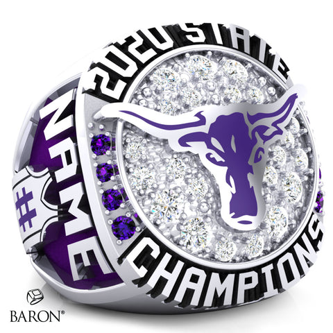 Forsyth Dogies Championship Ring - Design 1.4 (Ladies)