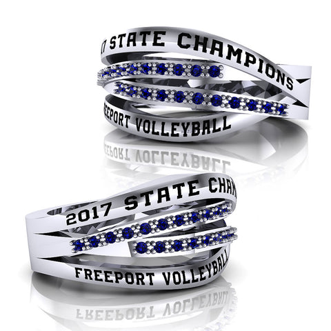 Freeport High School Ring - Design 1.3
