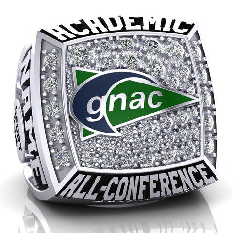 GNAC Academic All-Conference Ring (Durilium)