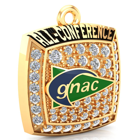 GNAC All-Conference Pendant (Gold Durilium)