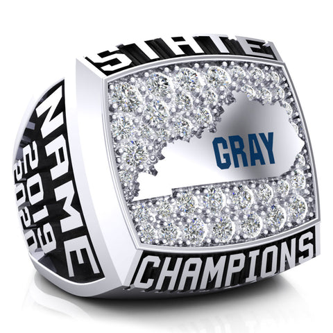 Gray Middle School Championship Ring - Design 2.4