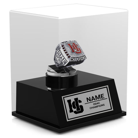 Hampden Sydney Basketball Championship Display Case