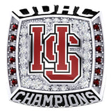 Hampden Sydney Basketball 1989 Championship Ring - Design 1.7