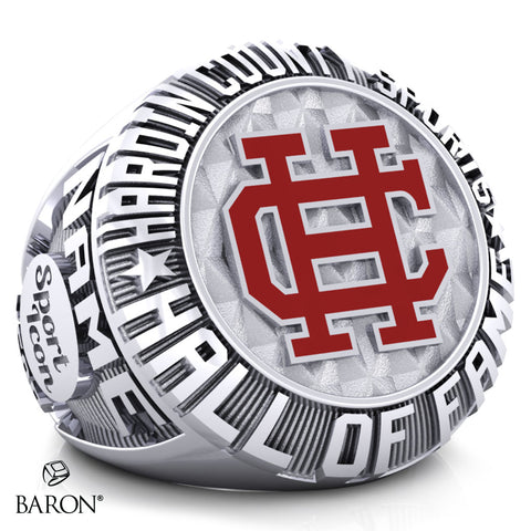 Hardin County Sports Hall of Fame Championship Ring - Design 1.2