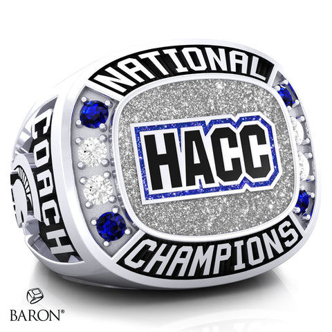 Hempfield Area Competitive Cheer Championship Ring - Design 5.7 (Coaches Ring)