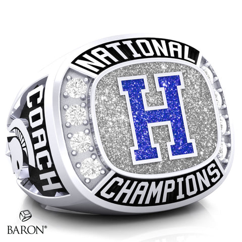 Hempfield Area Competitive Cheer Championship Ring - Design 5.8 (Coaches Ring)