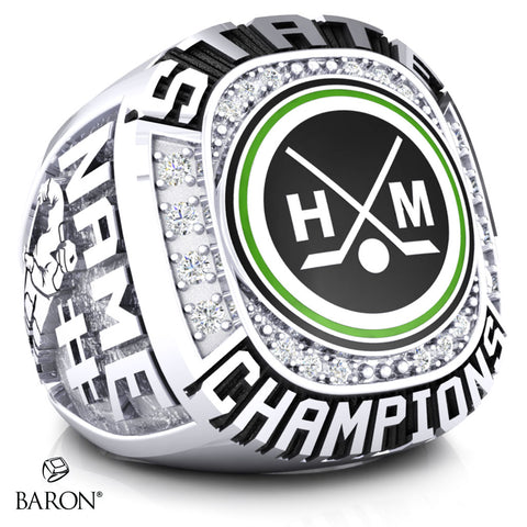 Hill-Murray Hockey Championship Ring - Design 3.2