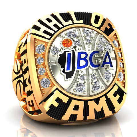 IBCA-Illinois - Hall of Fame Ring - (Two-Tone, 6KT, 10KT)
