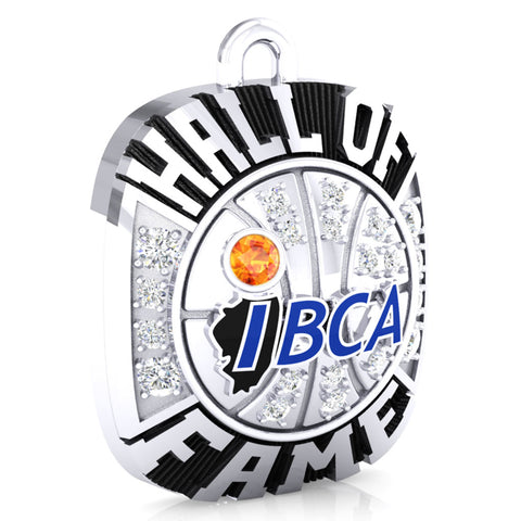 IBCA-Illinois - Hall of Fame Ring Top Pendant - (Durilium)