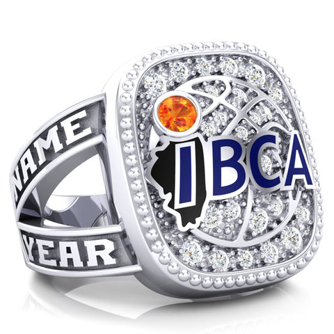 IBCA-Illinois - Hall of Fame Renown Ring - (Durilium, 6kt, 10kt)