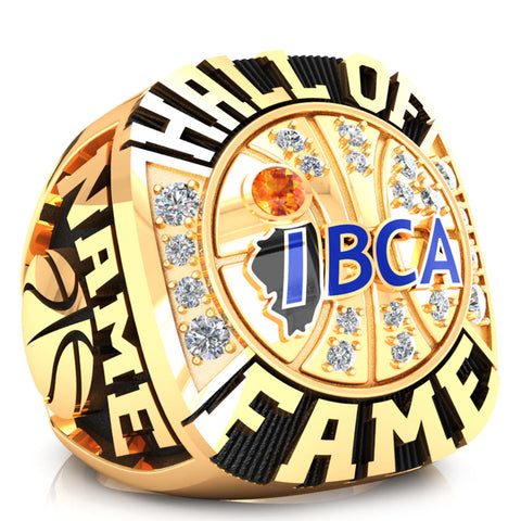 IBCA-Illinois - Hall of Fame Ring - (Gold Durilium, 6KT, 10KT)