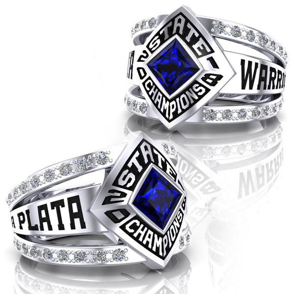 La Plata Warriors Virtue Ring - Design 2.1