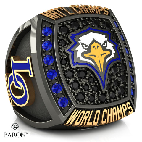 Live Oak Cheer Championship Ring - Design 1.4
