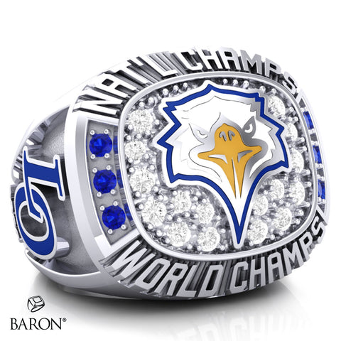Live Oak Cheer Championship Ring - Design 2.3