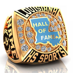 LHSAA Hall of Fame Ring