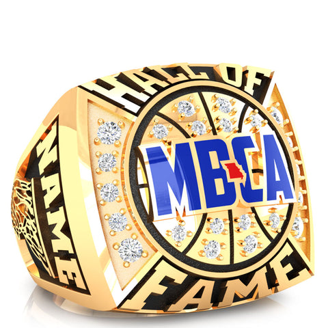 MBCA - Missouri - Hall of Fame Ring - Design 1.2 (Gold Durilium)