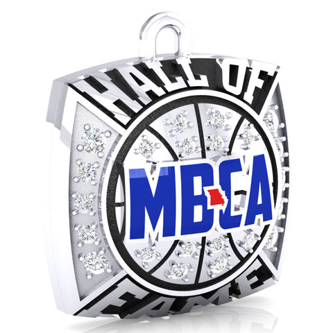 MBCA - Missouri - Hall of Fame Pendant - Design 1.5 (Durilium)