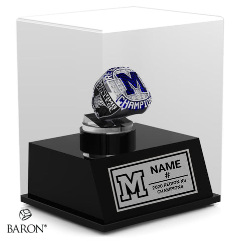 Macomb College Championship Display Case