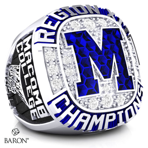Macomb College Women's Championship Ring - Design 1.7 - (LG)