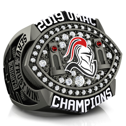 Martin Luther College Athletics Championship Ring - Design 2.3