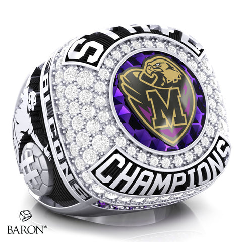 Monroe Township Falcons Championship Ring - Design 5.2