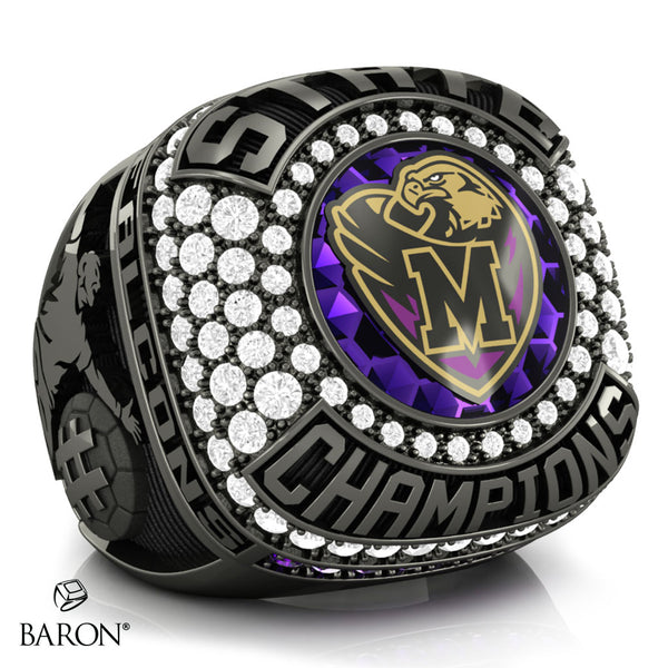 Monroe Township Falcons Championship Ring - Design 5.1