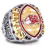 Mountain Lake Wolverines Championship Ring - Design 1.1A