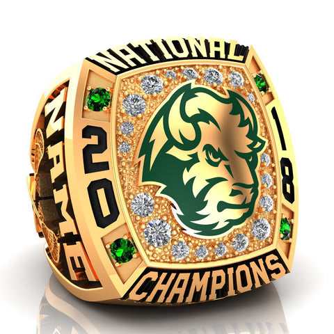 NDSU-Lacrosse Ring - Design 1.11