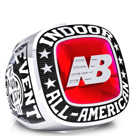 NSAF Indoor All-American Ring
