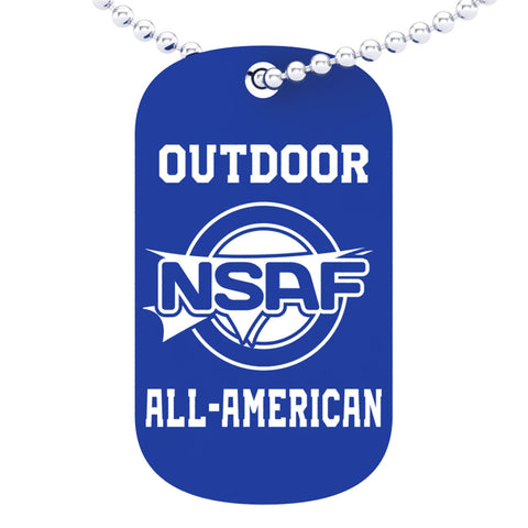 NSAF Outdoor All-American Dog tag