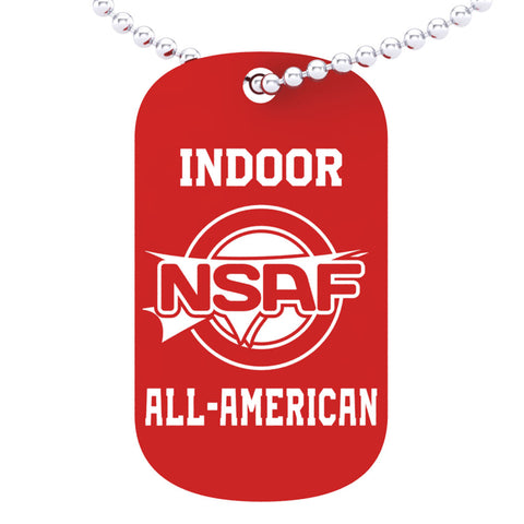 NSAF Indoor All-American Dog tag