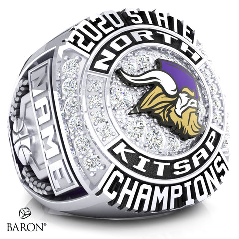North Kitsap Vikings Championship Ring - Design 1.1