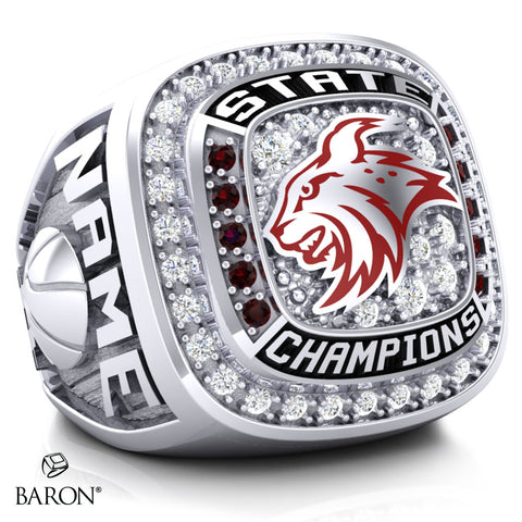 North Linn Lynx Championship Ring - Design 7.2