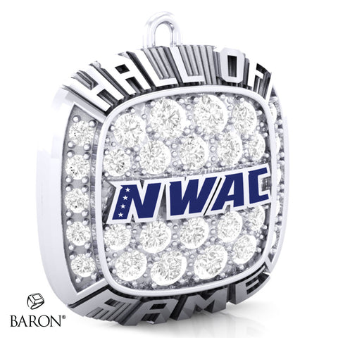 Northwest Athletic Conference Championship Ring Top Pendant - Design 1.7