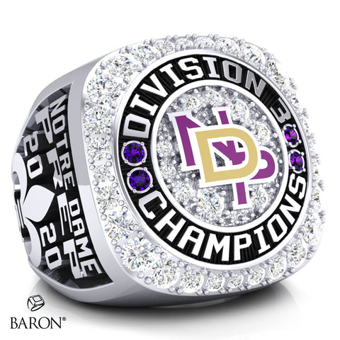 Notre Dame Prep Hockey Championship Ring - Design 2.3