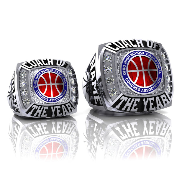 OHSBCA - Coach of the Year Ring