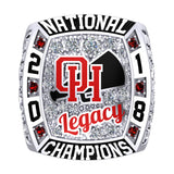Oak Hills Cheer Ring - Design 1.6 - Varsity NATIONAL